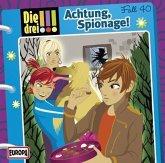 Achtung, Spionage! / Die drei Ausrufezeichen Bd.40 (Audio-CD)