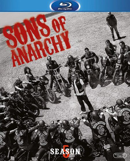 sons of anarchy season 5 3 discs auf blu ray disc. Black Bedroom Furniture Sets. Home Design Ideas