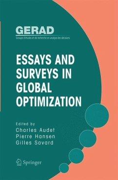 Essays and Surveys in Global Optimization