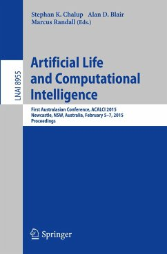 Artificial Life and Computational Intelligence