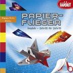 Papierflieger basteln - Schritt für Schritt