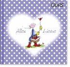 Oups Minibuch Lila - Alles Liebe