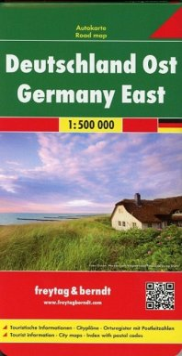 Freytag & Berndt Autokarte Deutschland Ost 1:500.000; Germany East