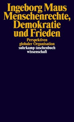 Menschenrechte, Demokratie und Frieden (eBook, ePUB) - Maus, Ingeborg