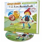 1,2,3 Im Sauseschritt-Die Liederbuchcd