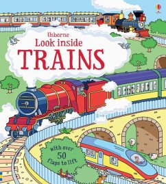 Look Inside Trains - Frith, Alex