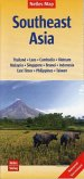 Nelles Maps Southeast Asia, Polyart-Ausgabe; Südostasien / Asie du Sud-Est / Sudeste Asiático