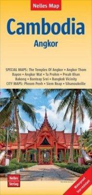 Nelles Maps Cambodia, Angkor, Polyart-Ausgabe