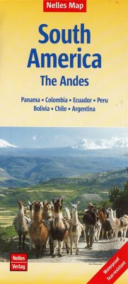 Nelles Map Landkarte South America: The Andes
