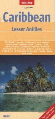 Nelles Maps Caribbean: Lesser Antilles