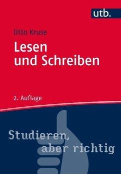 Lesen und Schreiben (eBook, ePUB) - Kruse, Otto