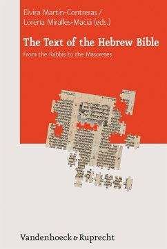 The Text of the Hebrew Bible (eBook, PDF)