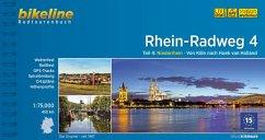 Bikeline Radtourenbuch Rhein-Radweg 04 Niederrhein
