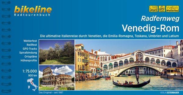 Bikeline Radtourenbuch Venedig-Rom, Radfernweg