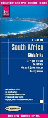 Reise Know-How Landkarte Südafrika; South Africa / Afrique du sud / Sudáfrica