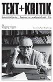 TEXT+KRITIK 34/Neufassung - Wolfgang Koeppen (eBook, PDF)