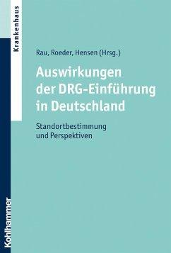 Auswirkungen der DRG-Einführung in Deutschland (eBook, ePUB)