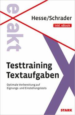 Hesse/Schrader: EXAKT - Testtraining Textaufgab...
