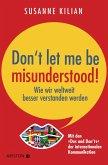Don´t let me be misunderstood (eBook, ePUB)