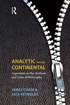 Analytic Versus Continental (eBook, ePUB) - Chase, James; Reynolds, Jack