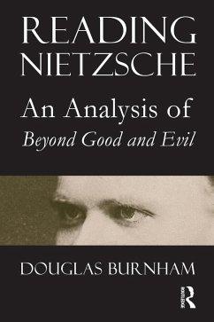 Reading Nietzsche (eBook, ePUB) - Burnham, Douglas