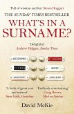 What's in a Surname? (eBook, ePUB)