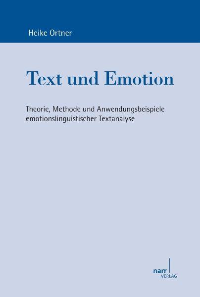 text und emotion von heike ortner fachbuch b. Black Bedroom Furniture Sets. Home Design Ideas