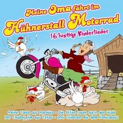 Meine Oma Fährt Im Hühnerstall Motorrad-16 Lustig - Partykids,Die