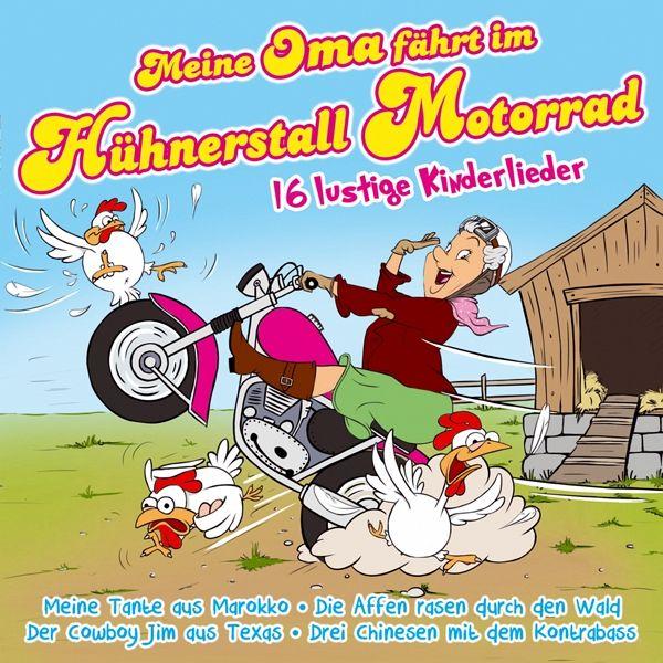 meine oma f hrt im h hnerstall motorrad 16 lustig auf audio cd portofrei bei b