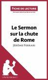 Le Sermon sur la chute de Rome de Jérôme Ferrari (Fiche de lecture) (eBook, ePUB)