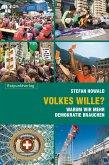 Volkes Wille? (eBook, ePUB)
