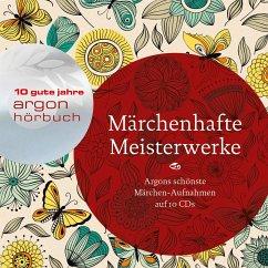Märchenhafte Meisterwerke, 10 Audio-CDs - Bechstein, Ludwig; Hauff, Wilhelm