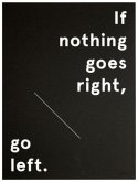 Wallspiration Paper: If nothing goes right, go left, Siebdruck
