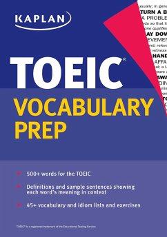 Kaplan TOEIC Vocabulary Prep - Kaplan Test Prep