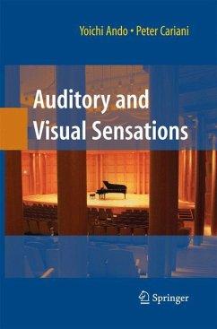 Auditory and Visual Sensations - Ando, Yoichi