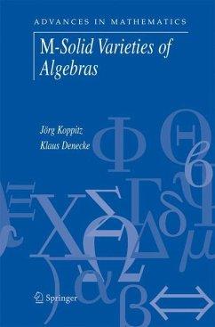 M-Solid Varieties of Algebras