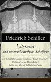 Literatur- und theatertheoretische Schriften (eBook, ePUB)