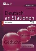 Deutsch an Stationen SPEZIAL Textsorten 7-8