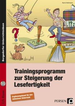 Trainingsprogramm Lesefertigkeit - Ergänzungsband - Hohmann, Karin