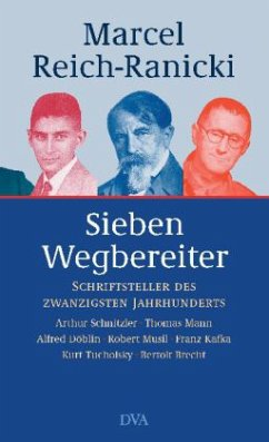 Sieben Wegbereiter (Mängelexemplar) - Reich-Ranicki, Marcel