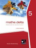 5. Schuljahr, Lehrermaterial / mathe.delta, Ausgabe Baden-Württemberg