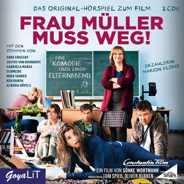 Frau Müller muss weg!, 2 Audio-CDs - Hübner, Lutz