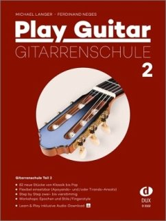 Play Guitar, Gitarrenschule - Langer, Michael; Neges, Ferdinand