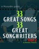 33 Great Songs 33 Great Songwriters Vol 2 (eBook, ePUB)