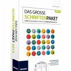 Das große Schriftenpaket 2015 (Download für Mac)