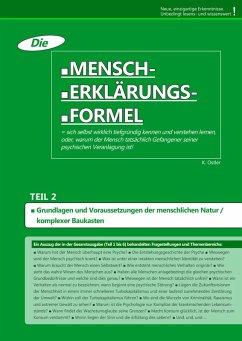 Die Mensch-Erklärungsformel (Teil 2) (eBook, ePUB) - Ostler, K.