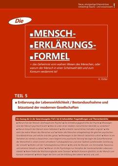 Die Mensch-Erklärungsformel (Teil 5) (eBook, ePUB) - Ostler, K.