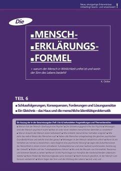 Die Mensch-Erklärungsformel (Teil 6) (eBook, ePUB) - Ostler, K.
