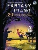 Fantasy Piano, für Klavier, m. Audio-CD