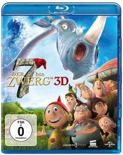 Der 7bte Zwerg 3D-Edition - Otto Waalkes,Gustav Peter Wöhler,Boris...